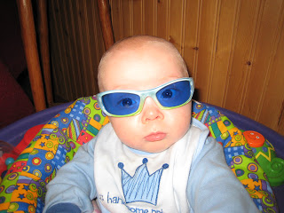 Maximilian Wearing Shades 2