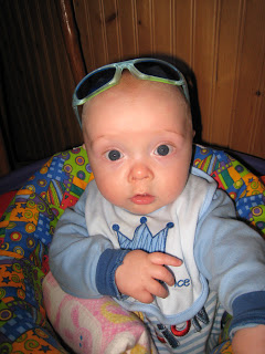 Maximilian Wearing Shades 1