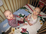 Max and Artemis at 9 Months Old Adjusted