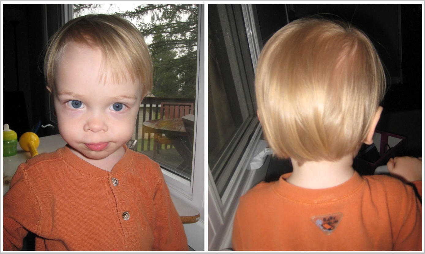 Maxs Haircut Collage After
