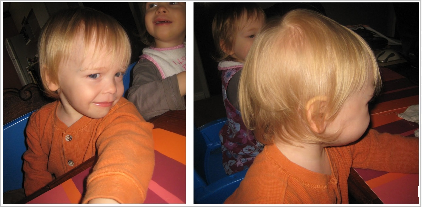 Maxs Haircut Collage Before