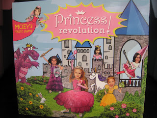 Moey's Music Party Princess Revolution CD