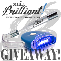 Smile Brilliant Teeth Whitening Group Giveaway Logo1