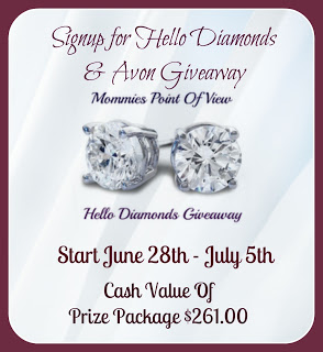 Signup for Hello Diamonds and Avon Group Giveaway