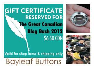 Bayleaf Buttons Gift Certificate Logo