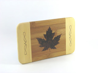 Hand Pyrographed Maple Leaf Wall Art by BK Inspired