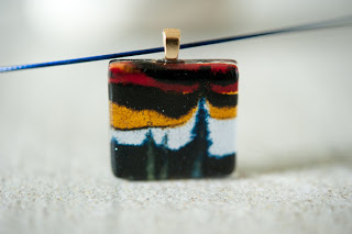 Glass Pendant from Current Works of Glass