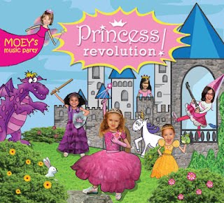Moey's Music Party The Princess Revolution CD