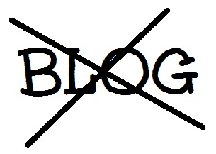 No More Blog Logo