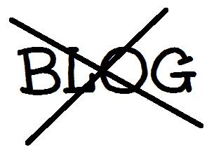 No More Blog Logo