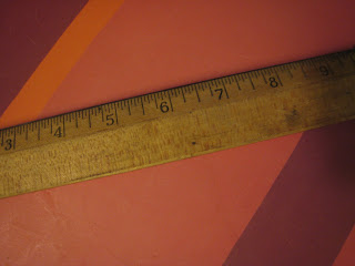 Old Wooden Ruler
