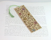 Wooden Pyrography Bookmark