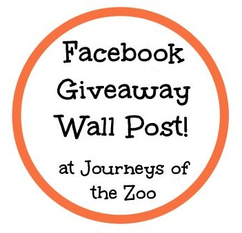 Journeys of The Zoo Facebook Giveaway Wall Logo