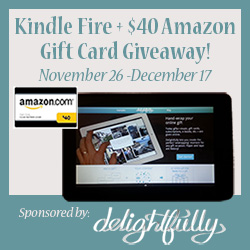 Delightfully Kindle Fire Giveaway