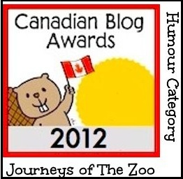 Canadian Blog Awards Logo