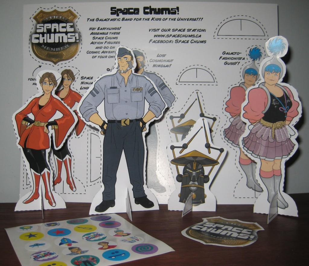 space chums review figurines