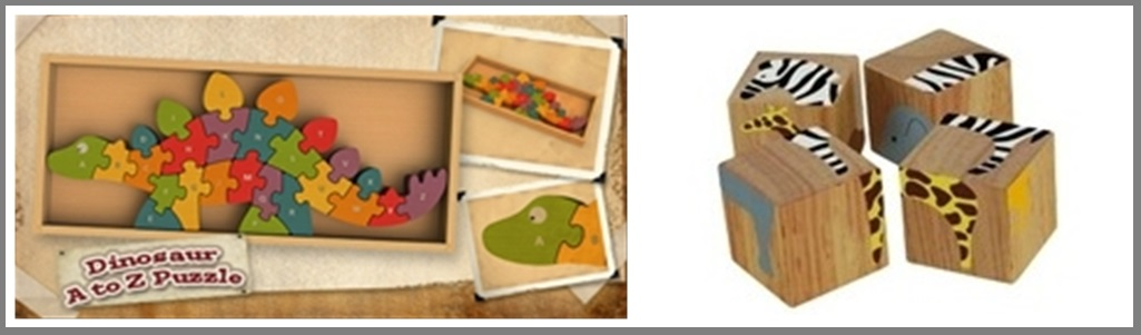 Baby Organic Joy Safari Collage