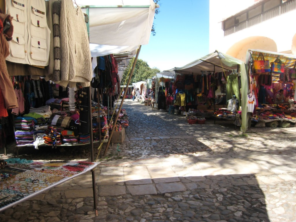 Santa Domingo Market San Cristobal
