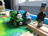 Thomas the Train and Sir Topham Hatt