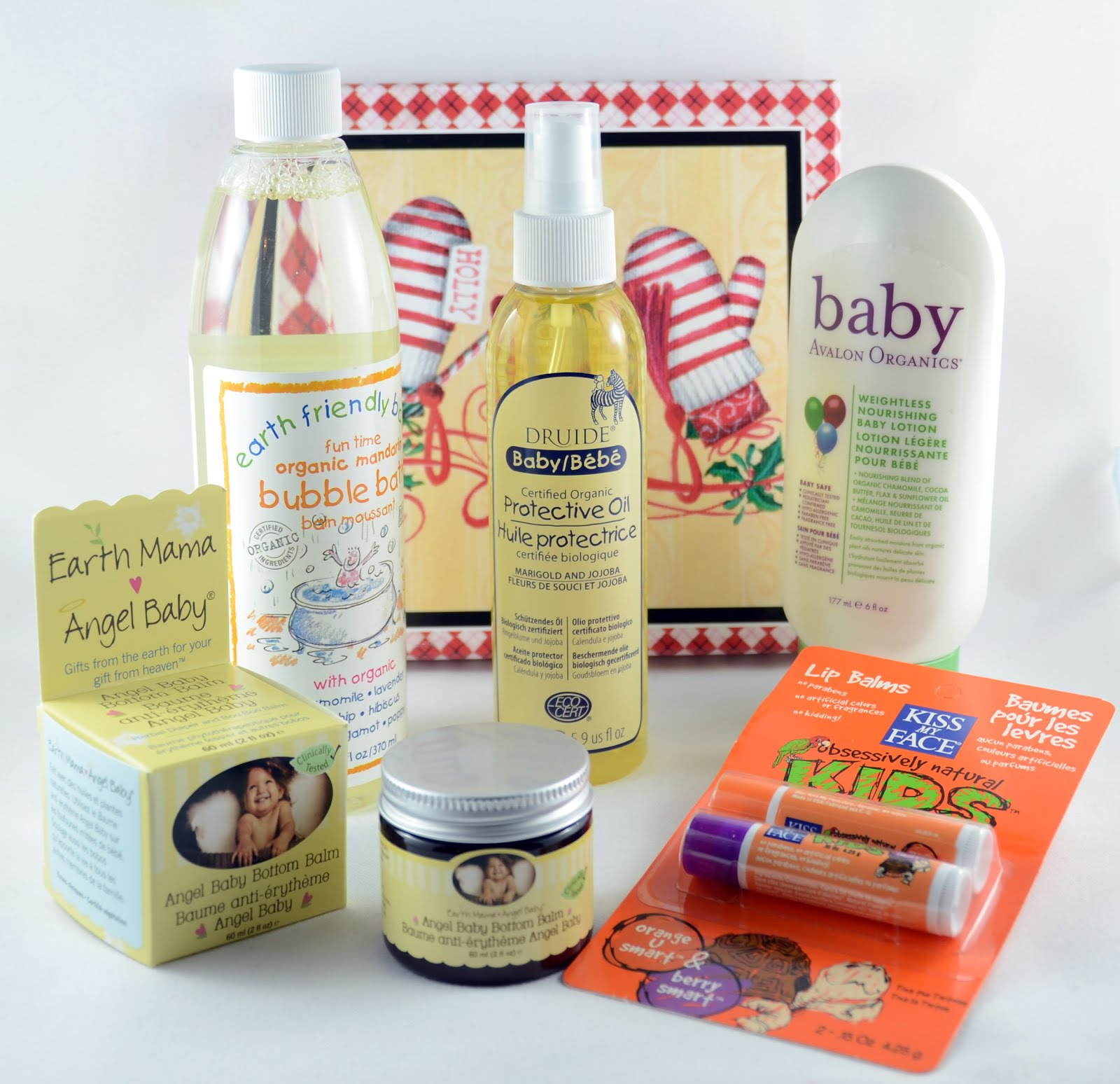 Baby Organic Joy Baby Care Set