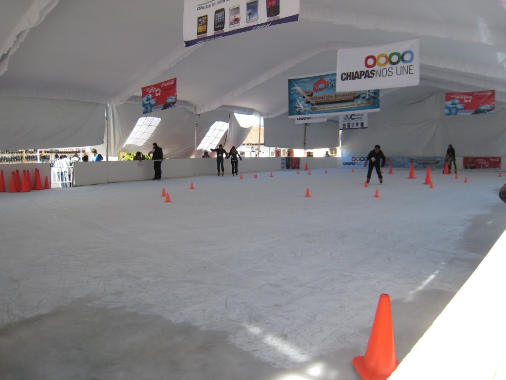 Ice Skating Rink in Mexico