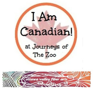 I Am Canadian Ottawa Valley Fiber Arts