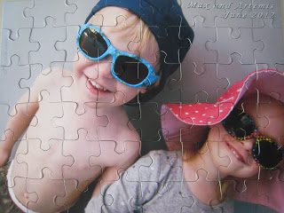 Piczzle Personalized Puzzle of Max and Artemis