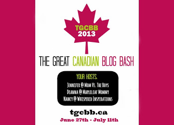 The Great Canadian Blog Bash Logo 2013