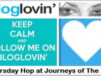 Thursday BlogLovin Hop at Journeys of The Zoo