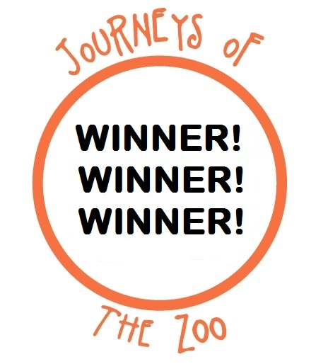 Journeys of The Zoo Giveaway Winner Logo