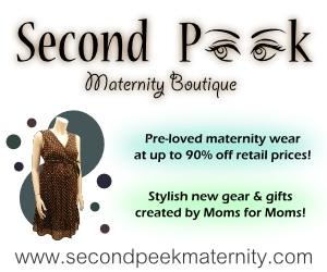 Second Peek Maternity Logo