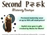 Second Peek Maternity Logo