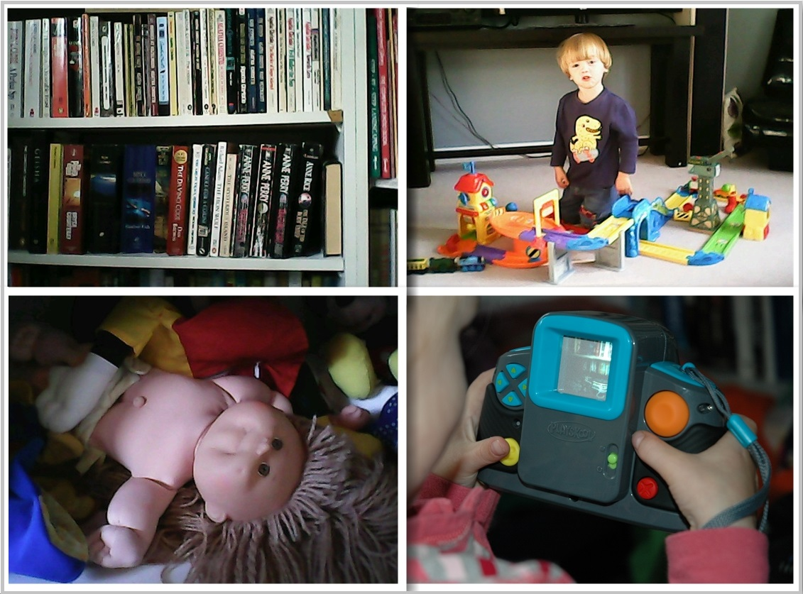 Playskool Camera Collage