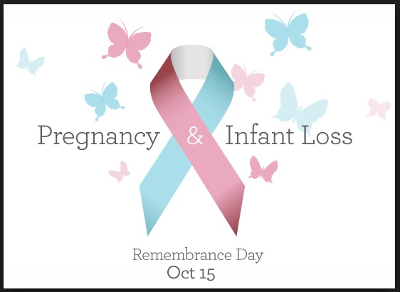 Pregnancy and Infant Loss Awareness Day Logo