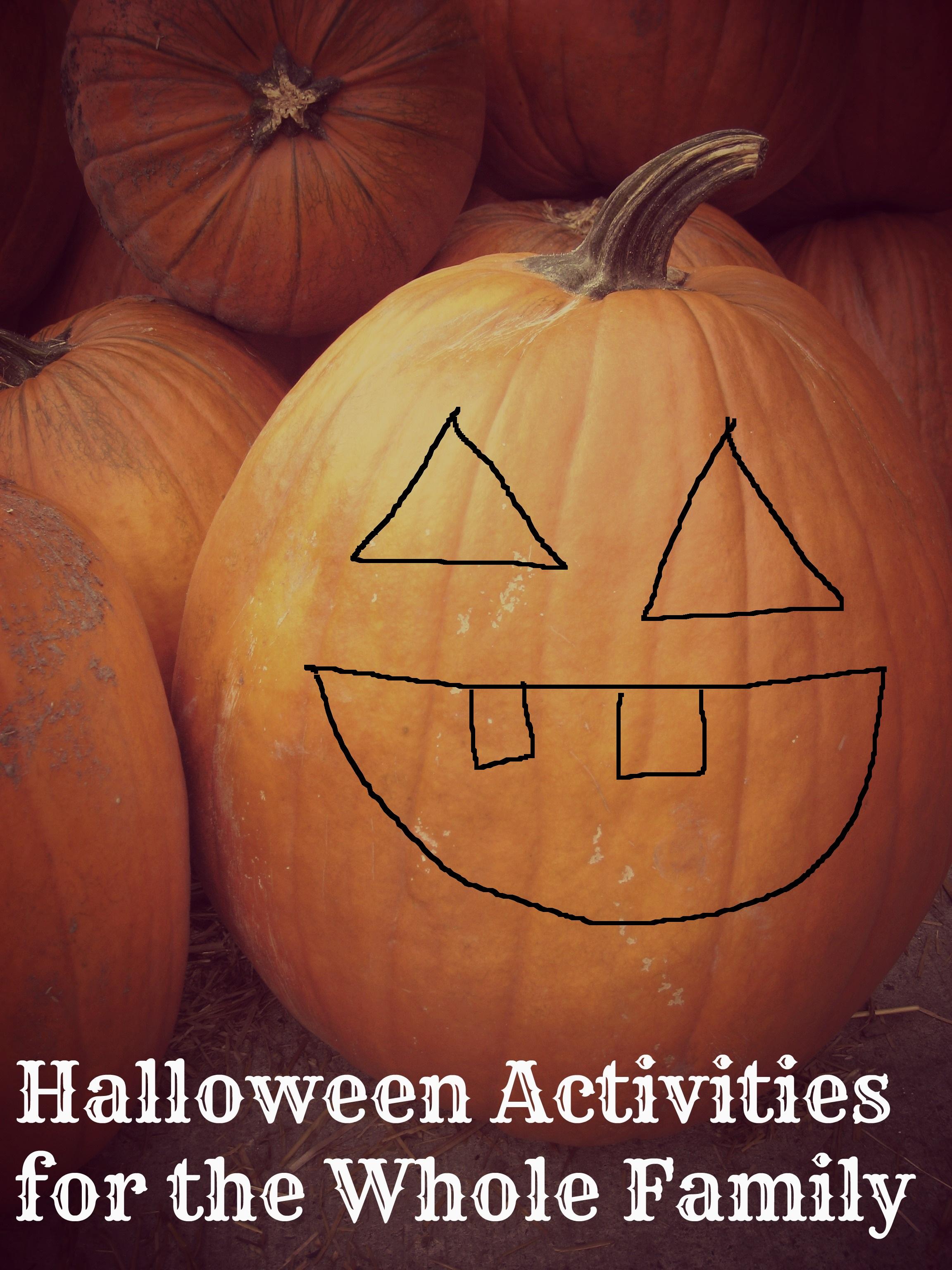 halloween activities carving pumpkins