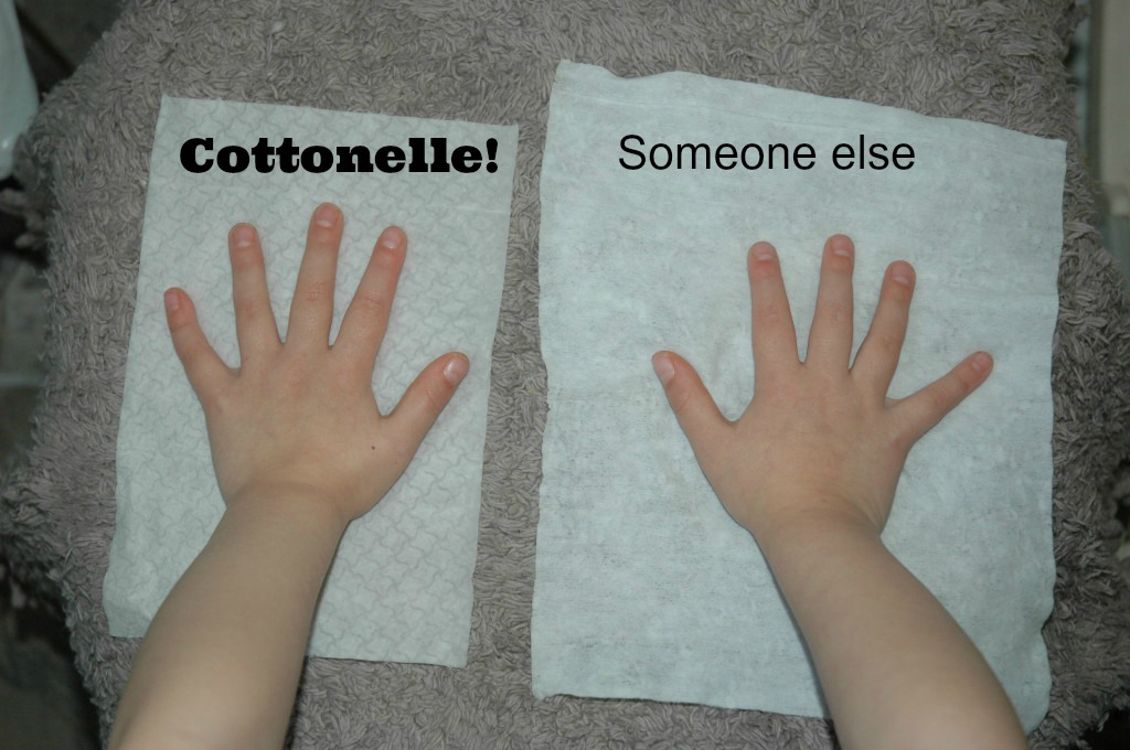 Cottonelle Flushing Cloth Comparison