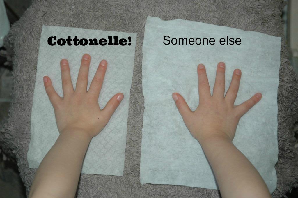Cottonelle Flushing Cloth Comparison