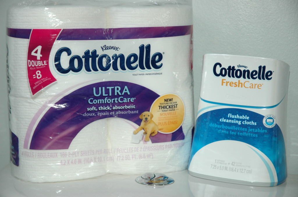Cottonelle Wet and Dry Care Routine