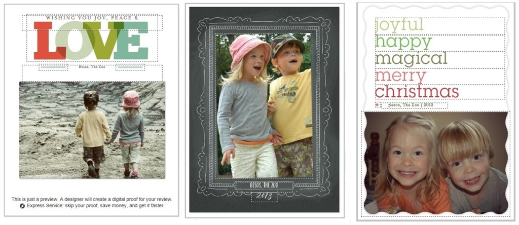 Minted Personalized Christmas Card Collage1
