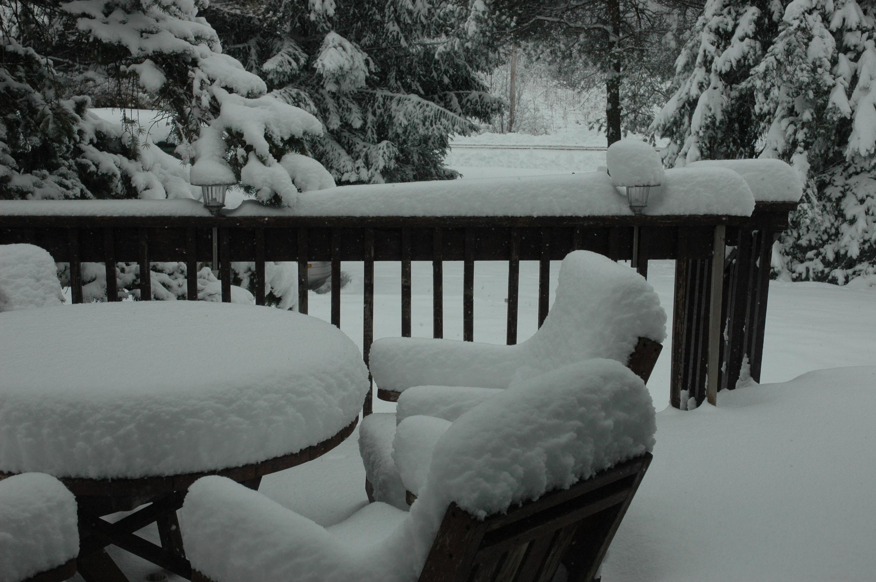 Snow Fall November 27 2013