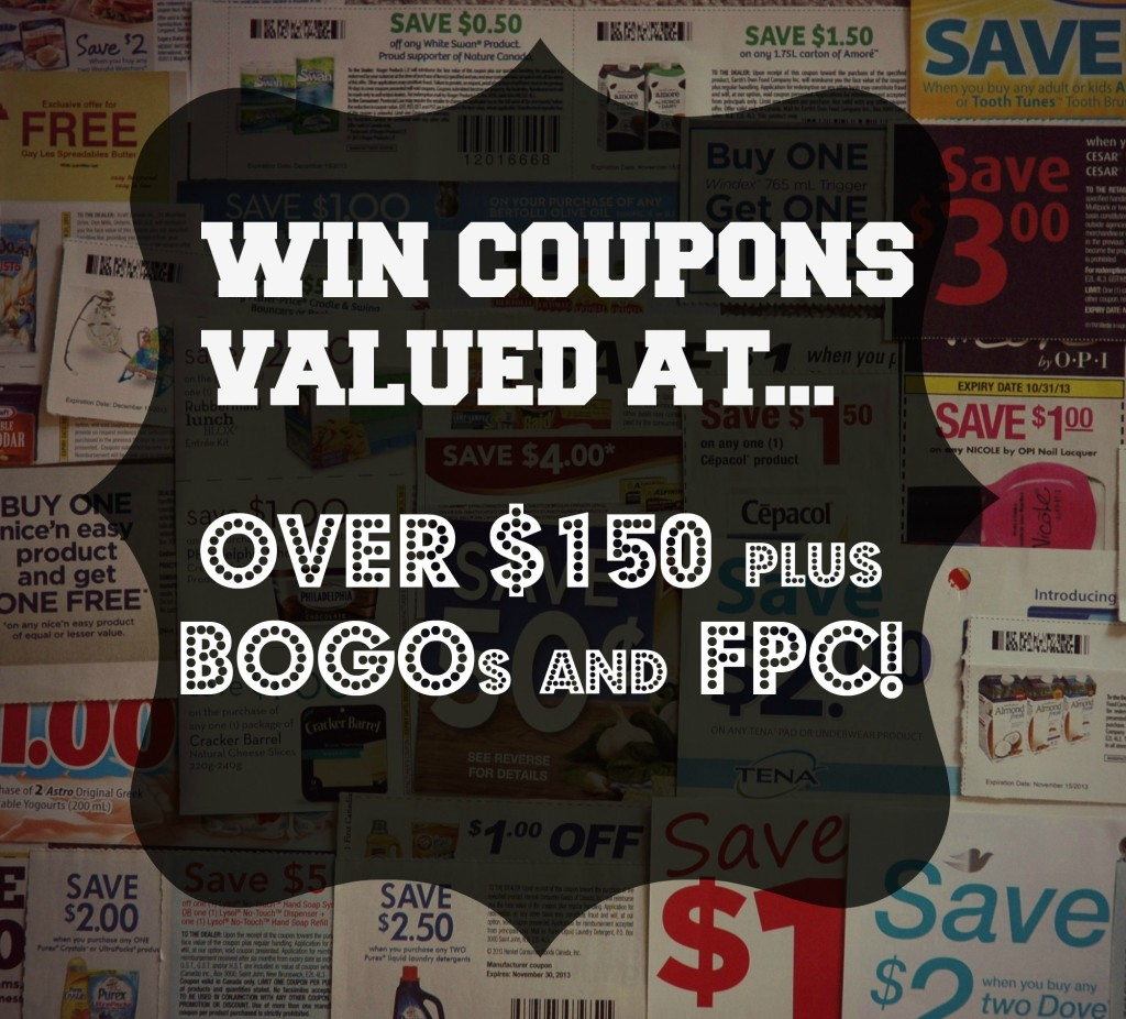Canadian Coupon Giveaway November