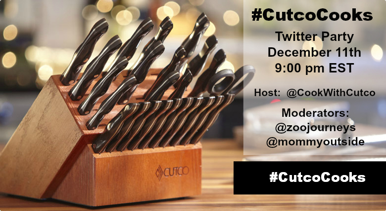#CutcoCooks Twitter Party December 2013