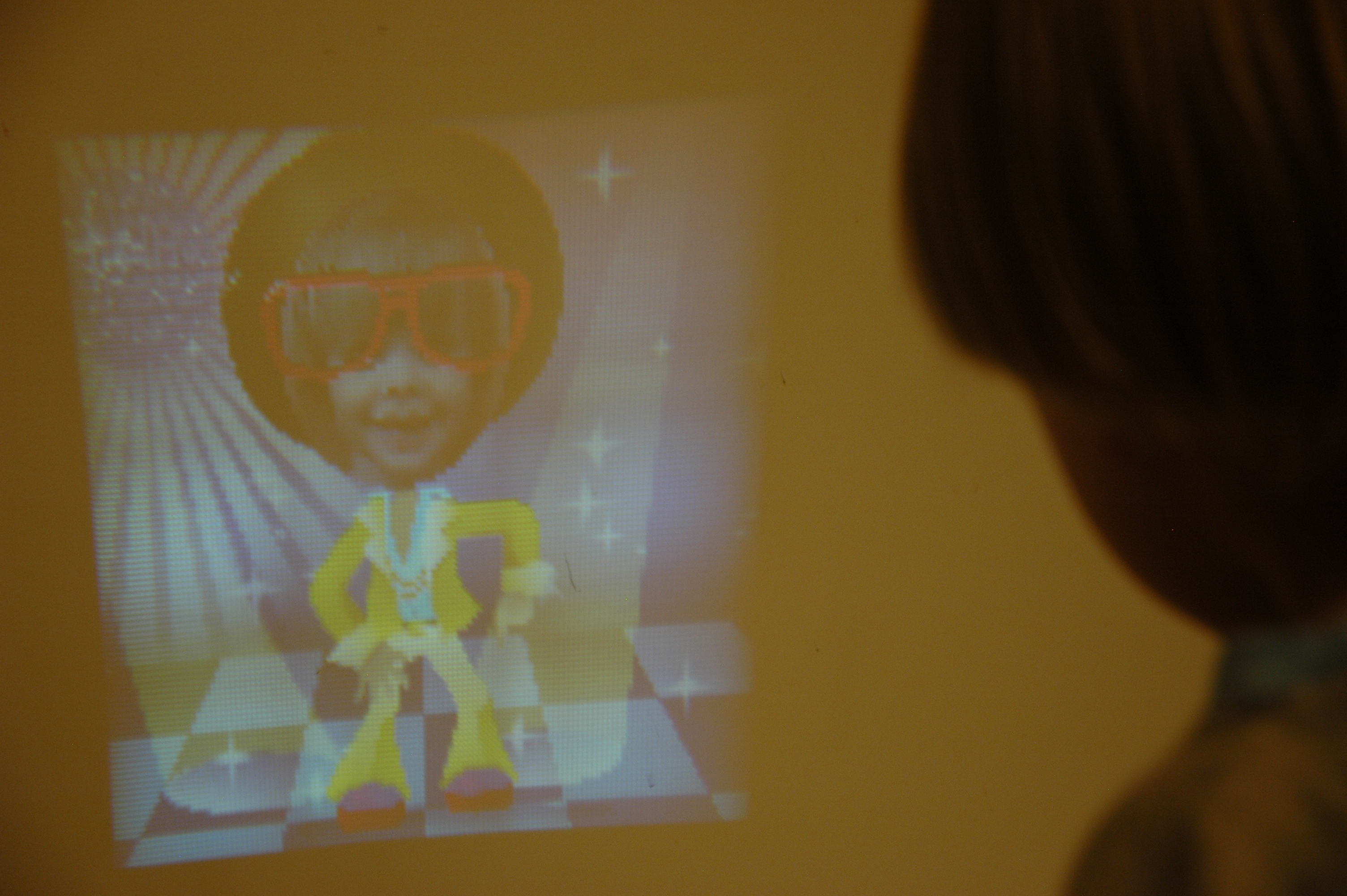 playskool showcam max and the projector