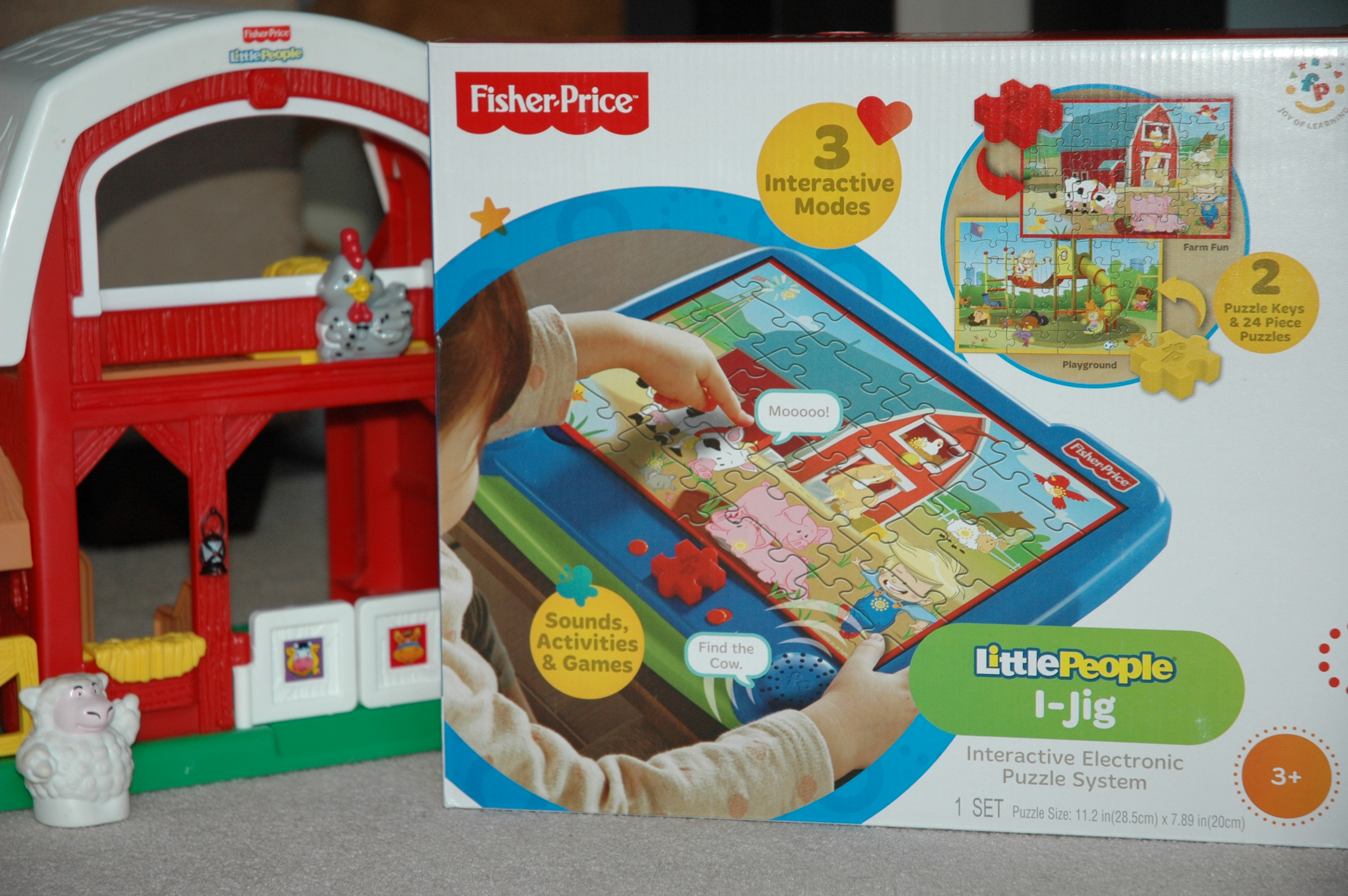 Fisher Price Little People IJig Puzzle