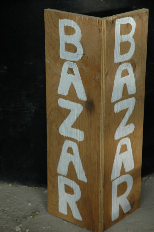 New Bazar Sign Mexico