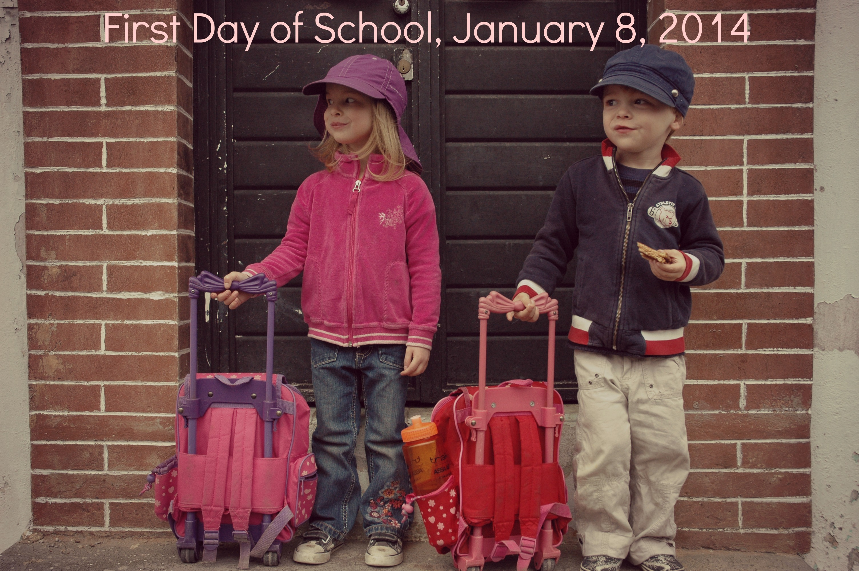 First Day of School Mexico 140108