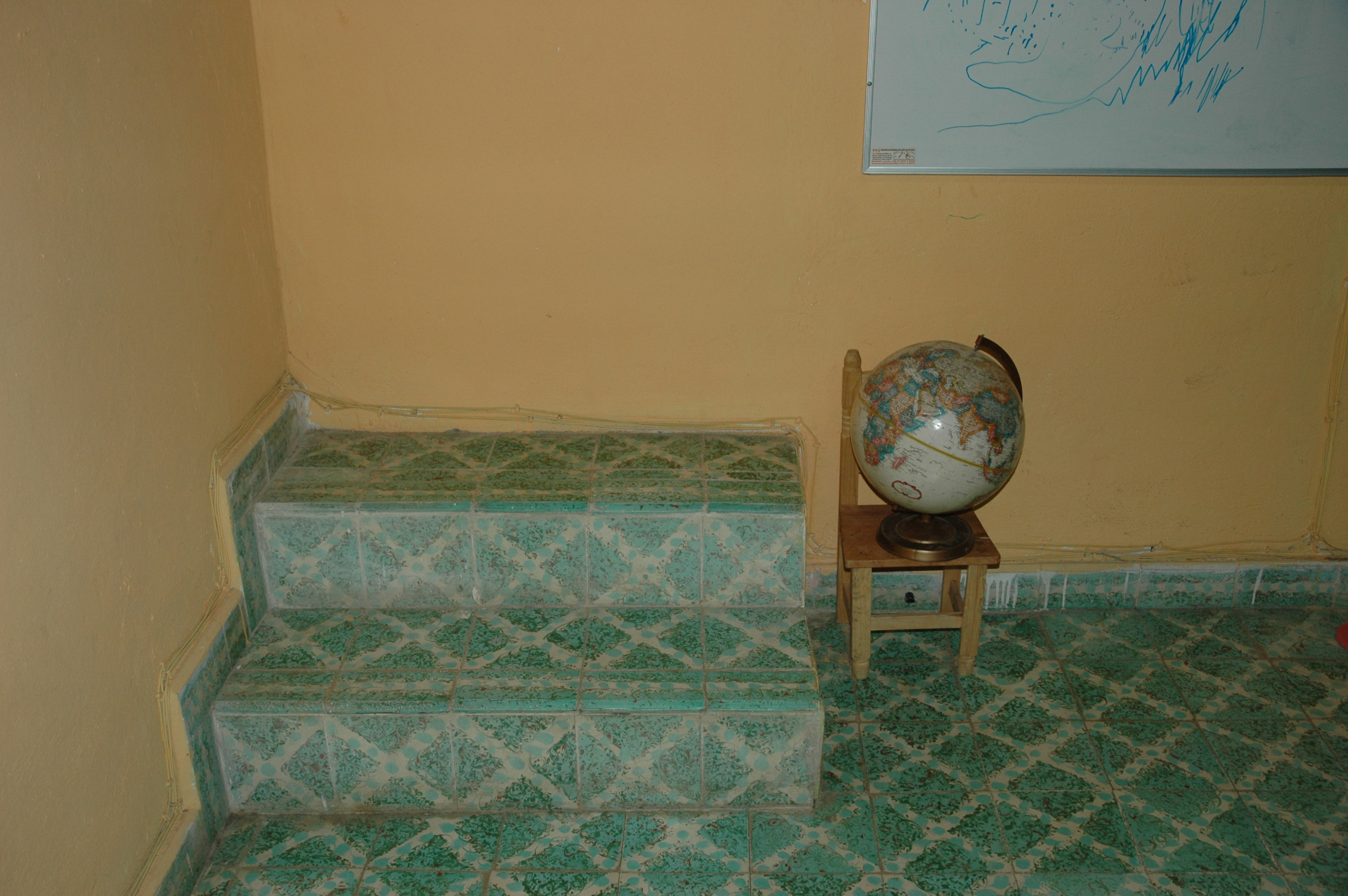 mystery staircase in doctors office mexico