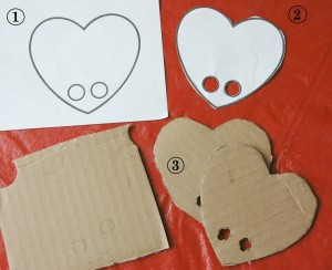 Valentines Day Finger Puppet Crafts Instructions
