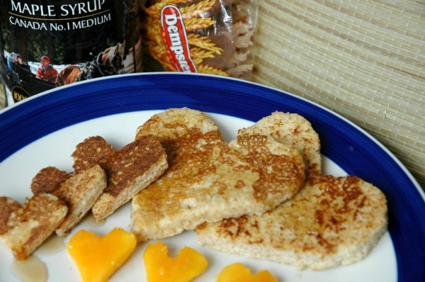 French Toast with Dempsters Zero Bread