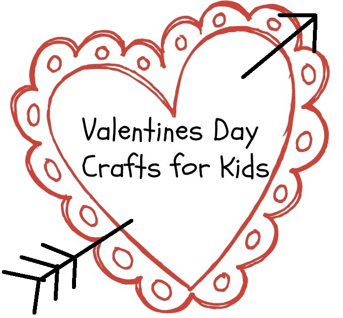Valentines Day Crafts for Kids Logo